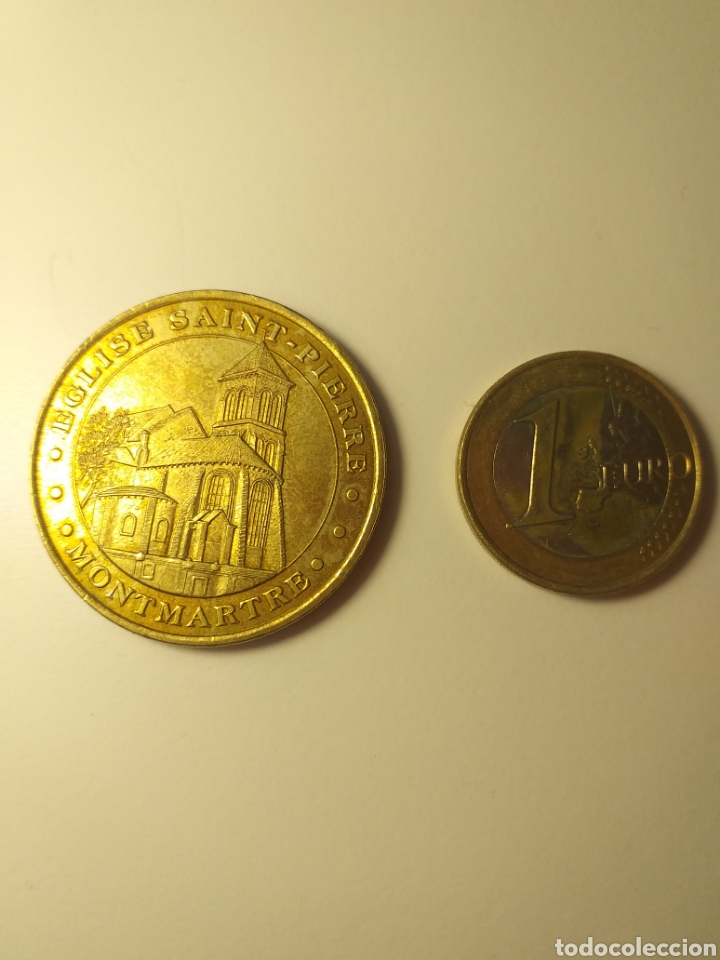 MEDALLA OFICIAL COLECCION NACIONAL MONNALE DE PARISO (Numismática - Medallería - Temática)