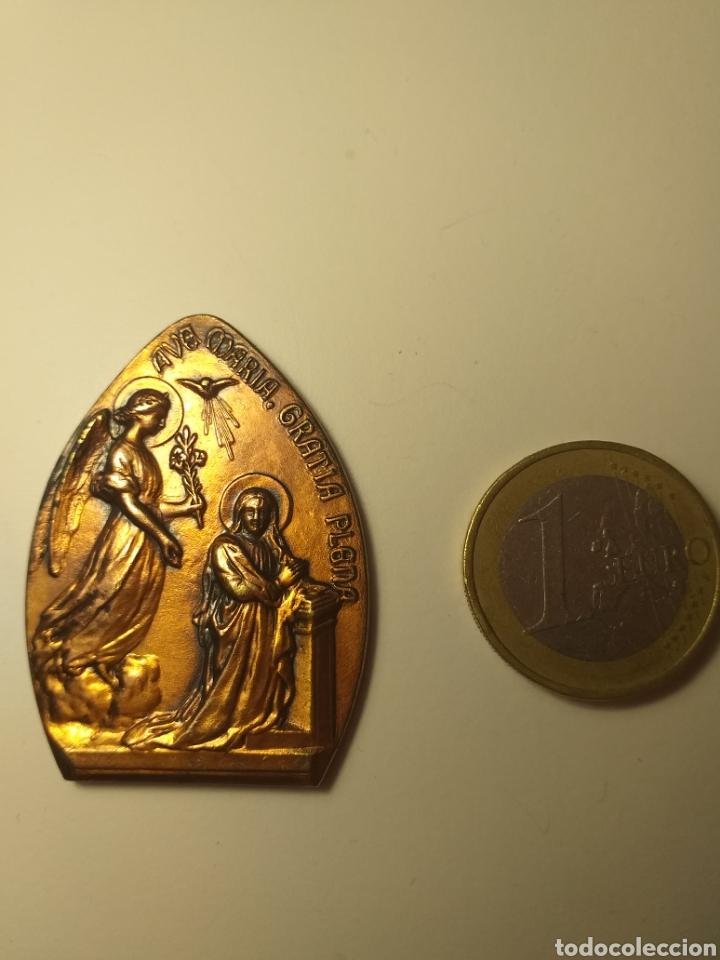 BARCELONA AÑO 1965 - MEDALLA VIII EXPOSICIÓN DEL SELLO MISIONAL PP JESUITAS (Numismática - Medallería - Temática)