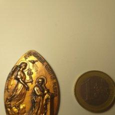 Medallas temáticas: BARCELONA AÑO 1965 - MEDALLA VIII EXPOSICIÓN DEL SELLO MISIONAL PP JESUITAS. Lote 195354046