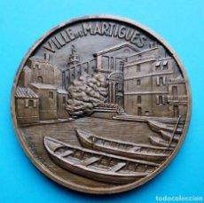 Medallas temáticas: MEDALLA VILLE DE MARTIGUES. Lote 195413042