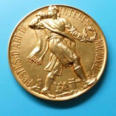 Medallas temáticas: FESTES D' ART DE INTERES NACIONAL. Lote 195415668