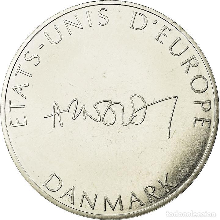 Medallas temáticas: Dinamarca, medalla, Etats-Unis dEurope, FDC, Bronce plateado - Foto 2 - 195507543