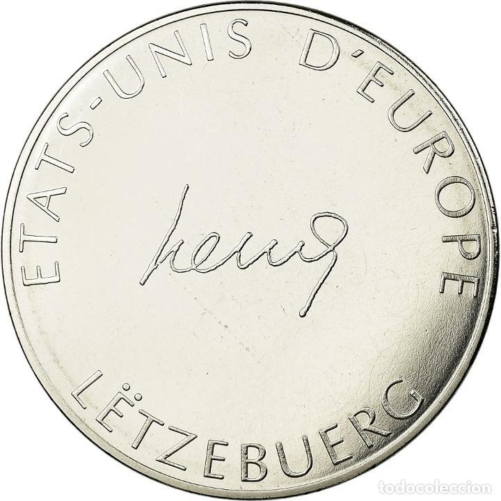 Medallas temáticas: Luxemburgo, medalla, Etats-Unis dEurope, FDC, Bronce plateado - Foto 2 - 195513318
