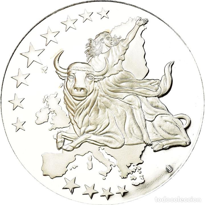 Medallas temáticas: Irlanda - Eire, medalla, Monnaies européennes, 2002, FDC, Copper Plated Silver - Foto 2 - 195512381