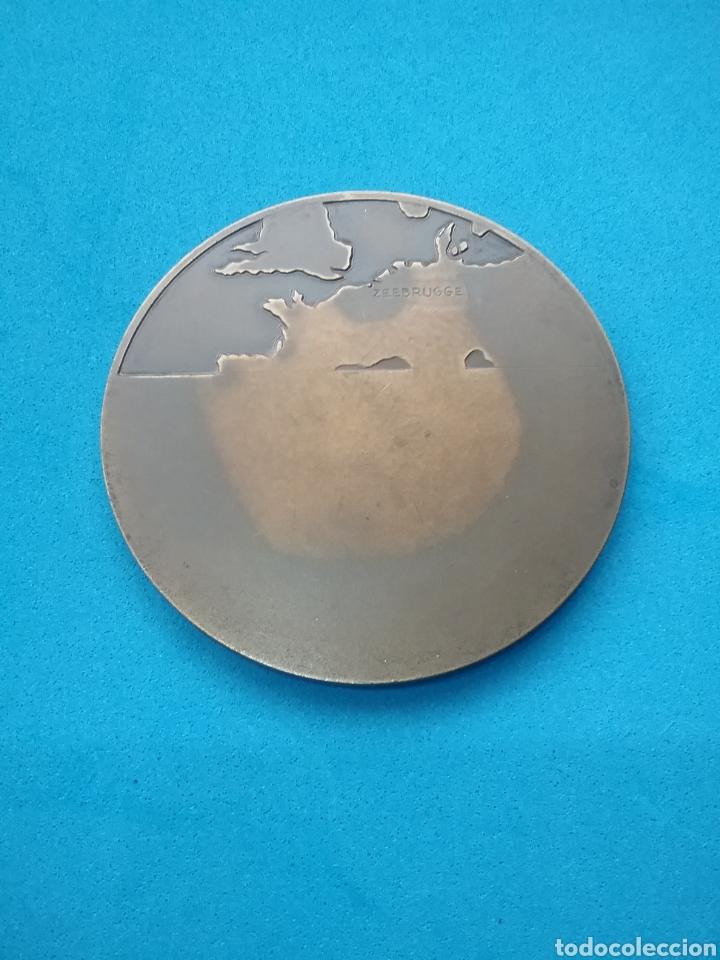 Medallas temáticas: Medalla de bronce Zeebrügge. Rolsaerl 1960 - Foto 2 - 195817605
