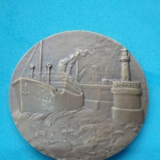 Medallas temáticas: MEDALLA DE BRONCE ZEEBRÜGGE. ROLSAERL 1960. Lote 195817605