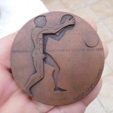Medallas temáticas: MEDALLA DE SUBIRACHS KONSTANDINOS P. KAVAFIS 1863 1933 . Lote 195851126