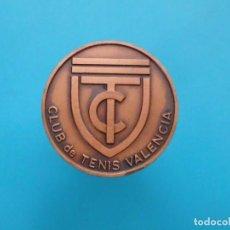 Medallas temáticas: MEDALLA CLUB DE TENIS VALENCIA, CAMPEONATO DE ESPAÑA DE VETERANOS 1979. Lote 196229521