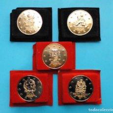 Medallas temáticas: LOTE MEDALLAS PAISES MIEMBROS DE LA COMUNIDAD ECONOMICA EUROPEA. Lote 196231541