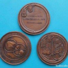 Medallas temáticas: MEDALLAS, A SSMM LOS REYES, DON JUAN CARLOS I Y DOÑA SOFIA PRESIDENTES DE HONOR, CONGRESO INTERNACI.. Lote 196258680
