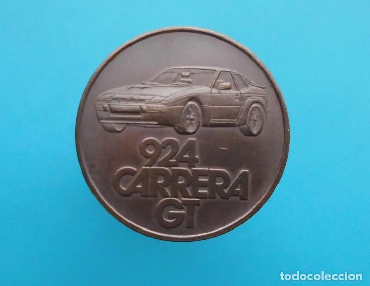 MEDALLA PORSCHE 924 CARRERA GT, 1981 FAHREN IN SEINER SCHÖNSTEN FORM (Numismática - Medallería - Temática)