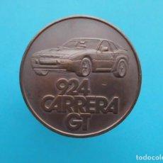 Medallas temáticas: MEDALLA PORSCHE 924 CARRERA GT, 1981 FAHREN IN SEINER SCHÖNSTEN FORM. Lote 196545527