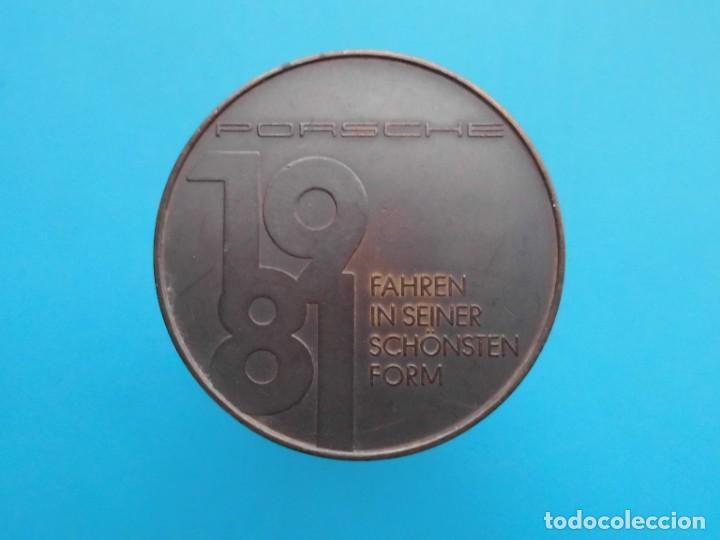 Medallas temáticas: MEDALLA PORSCHE 924 CARRERA GT, 1981 FAHREN IN SEINER SCHÖNSTEN FORM - Foto 2 - 196545527