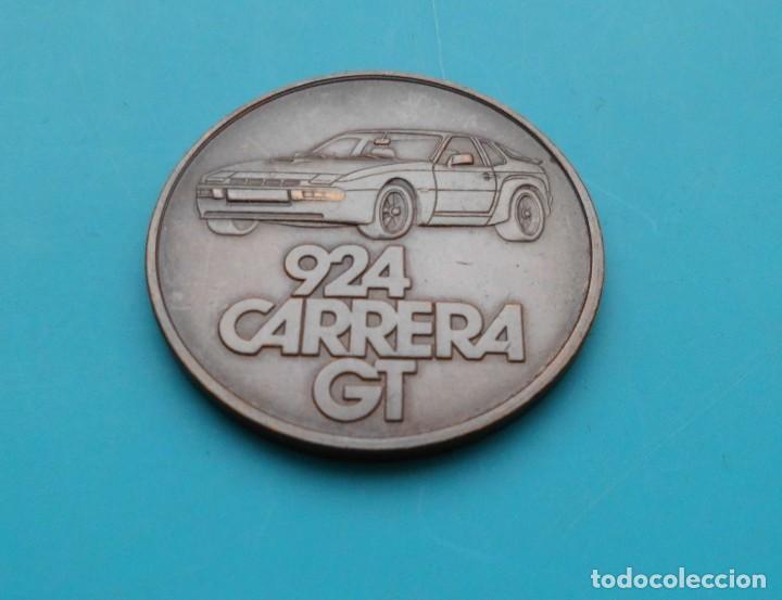 Medallas temáticas: MEDALLA PORSCHE 924 CARRERA GT, 1981 FAHREN IN SEINER SCHÖNSTEN FORM - Foto 3 - 196545527