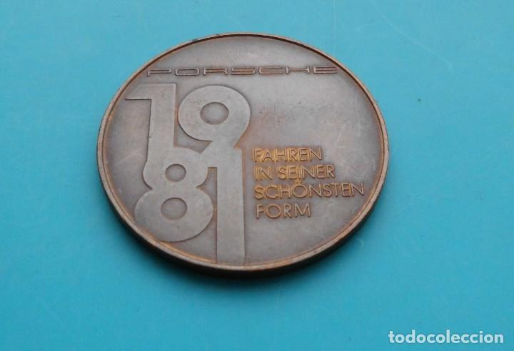 Medallas temáticas: MEDALLA PORSCHE 924 CARRERA GT, 1981 FAHREN IN SEINER SCHÖNSTEN FORM - Foto 4 - 196545527