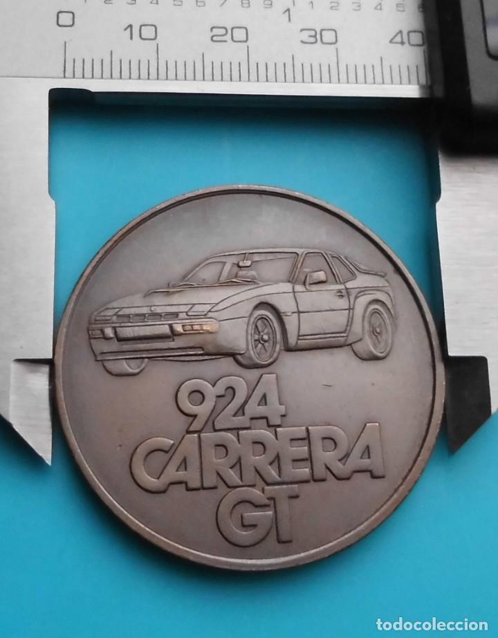 Medallas temáticas: MEDALLA PORSCHE 924 CARRERA GT, 1981 FAHREN IN SEINER SCHÖNSTEN FORM - Foto 6 - 196545527