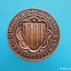 Medallas temáticas: MEDALLA 50 ANIVERSARIO INSTITUTO OBRERO VALENCIA, 1937 - 1987. Lote 196551758