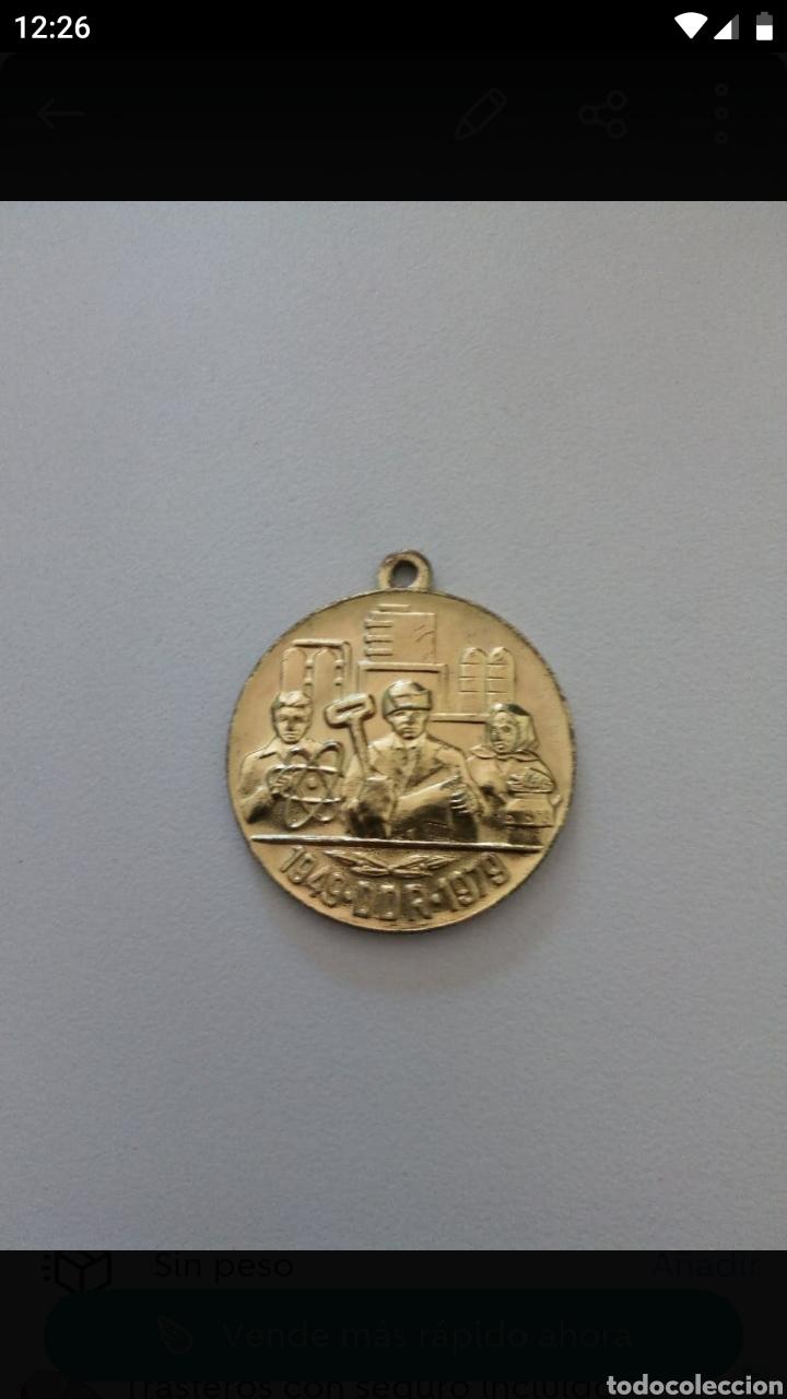 MEDALLA DE LA RDA (Numismática - Medallería - Temática)