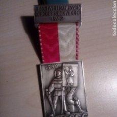 Medallas temáticas: MEDALLA SUIZA - HELVETIA - EINZELWETTSCHIESSEN CONCOURS INDIVIDUAL 1962 S.S.V. - S.S.C. - DE KRAMER. Lote 196627002