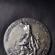 Medallas temáticas: MEDALLA BRONCE PLATEADO AUTOPISTA SEVILLA - CADIZ. BETICA AUTOPISTAS S.A. MINISTERIO OBRAS PÚBLICAS. Lote 197118958