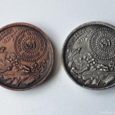 Medallas temáticas: MEDALLAS SOCIEDAD NUMISMATICA AVILESINA. FUNDACION. 1977. Lote 197205303