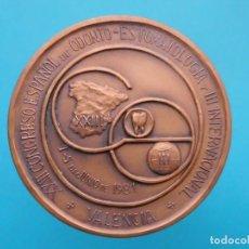 Medallas temáticas: MEDALLA XXIII CONGRESO ESPAÑOL DE ODONTO-ESTOMATOLOGIA Y III INTERNACIONAL, 1981. Lote 197364068