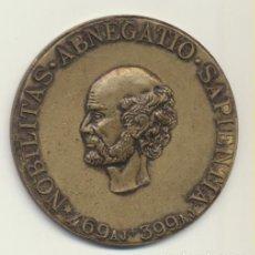 Medallas temáticas: MEDALLA. AE 39 MM. NOBILITAS ABNEGATIO SAPIENTIA. ROCHE 1896. MEDALLA DEL SIGLO XX. Lote 197399422