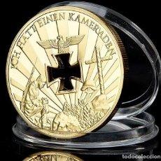 Medallas temáticas: MONEDA ORO GERMAN 1914-1945 NUNCA TE OLVIDES DE MILLONES DE CAIDOS. Lote 197424910
