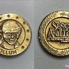 Médailles thématiques: MONEDA MEDALLA GOLLUN SEÑOR DE LOS ANILLOS. Lote 197492555