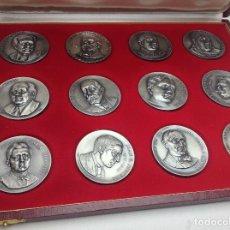 Medallas temáticas: COLECCION DE 12 MEDALLAS DIFERENTES TEMAS Y PERSONAJES - LA MAYORIA FIRMADAS PUJOL / 2. Lote 197553041