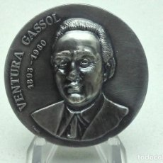 Medallas temáticas: MEDALLA VENTURA GASSOL - ANY 1980 - FIRMA PUJOL. Lote 197852085