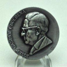 Medallas temáticas: MEDALLA JOSEP GASPAR I BULBENA - HOTELES USA 1930-1980 - FIRMA PUJOL. Lote 197852436