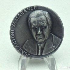 Medallas temáticas: MEDALLA JOAN ANTONI SAMARANCH - JULIOL 1980 - FIRMA PUJOL. Lote 197854517