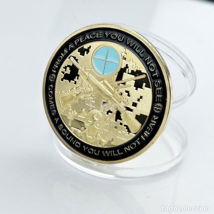 Medallas temáticas: MONEDA DE COLECCION - PUEDES CORRER PERO MORIRAS CANSADO - MONEDA HOMENAJE AL FRANCOTIRADOR - Foto 2 - 199062560
