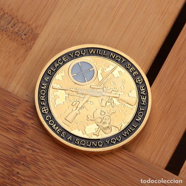 Medallas temáticas: MONEDA DE COLECCION - PUEDES CORRER PERO MORIRAS CANSADO - MONEDA HOMENAJE AL FRANCOTIRADOR - Foto 3 - 199062560