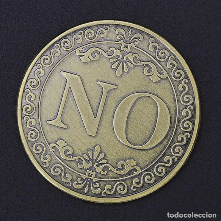 Medallas temáticas: MONEDA DE COLECCION - SI O NO - EN RELIEVE - MONEDA DE LA SUERTE - Foto 3 - 199062902