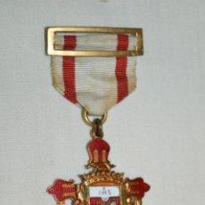 Medallas temáticas: MEDALLA / CONDECORACIÓN - POSSUMUS - ESMALTADA Y PASADOR - COLEGIOS CATÓLICOS ESPAÑA ¡MIRA!. Lote 199515018