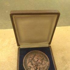 Medallas temáticas: MEDALLA XXV ANIVERSARIO FERIA MUESTRARIO VALENCIA - BODAS DE PLATA 1917 - 1947. Lote 199902412
