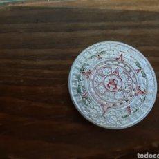 Medallas temáticas: PRECIOSA MONEDA MEDALLA CALENDARIO AZTECA.. Lote 200772485
