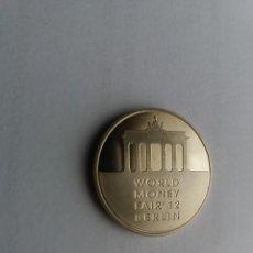 Medalhas temáticas: LITHUANIA - WORLD MONEY FAIR 2012. FOTOGRAFÍAS EN DESCRIPCIÓN.. Lote 201268643