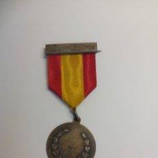 Medallas temáticas: MEDALLA EDUCACIÓN Y DESCANSO INP FRANCO. Lote 201519835