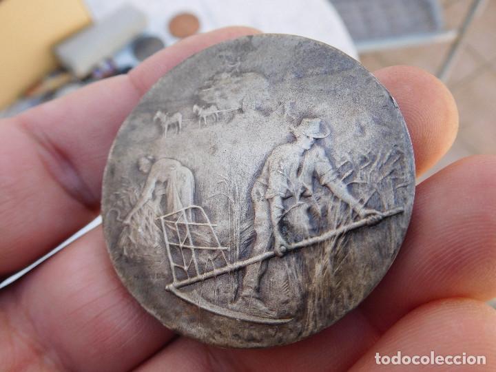 Medallas temáticas: Medalla de plata Arront de Clamecy comice agricole - Foto 2 - 201849780
