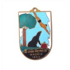 Medallas temáticas: MADRID.- NATACIÓN. II PREMIO DE MADRID 1952.. Lote 201901740