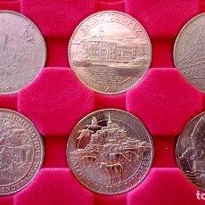 Medallas temáticas: LOTE DE MEDALLAS FRANCESAS - TRESORS DE FRANCE. Lote 202354890