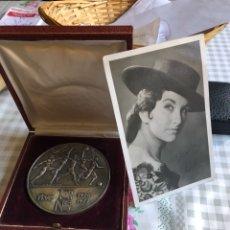 Medallas temáticas: RARA MEDALLA ENTREGADA AL JURADO A UN PROGAMA DE TELEVISION. Lote 202771815