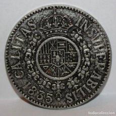Medallas temáticas: MEDALLA CALITAS INSUPERABILIS. REALIZADA EN ALUMINIO. REVERSO GB.. Lote 203791938