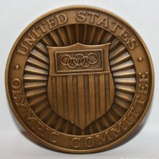 Medallas temáticas: MEDALLA DEL COMITE OLIMPICO DE LOS ESTADOS UNIDOS. Lote 203802400