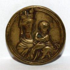 Medallas temáticas: INSIGNIA-PIN EN BRONCE. FONS SALUTIS. SABADELL. 1697-1947. Lote 203804246