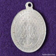 Medallas temáticas: MEDALLA DE VITORIA (ALAVA). ASOCIACION DE LAS HIJAS DE MARIA. DIOCESIS DE VITORIA. HECHA EN BILBAO.. Lote 204055640