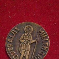 Medallas temáticas: MEDALLA CONMEMORATIVA QUERALBS MILLENARI. Lote 204367141